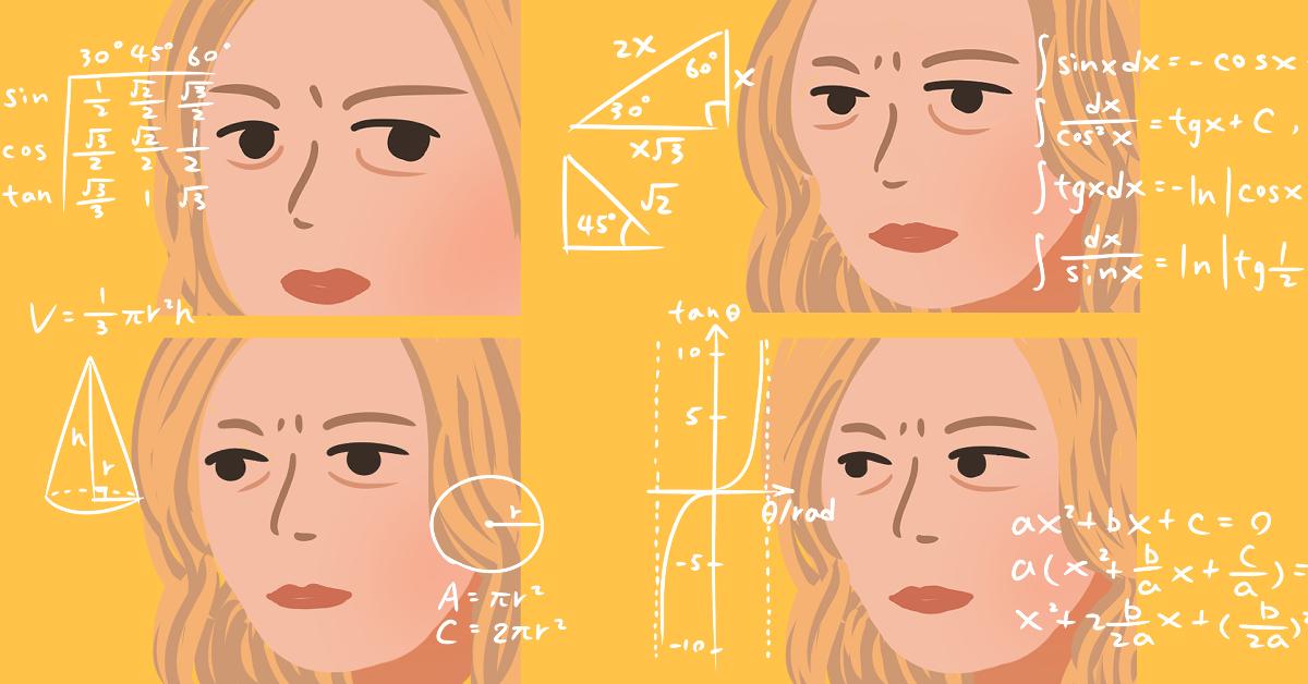 Math Lady - 培養meme